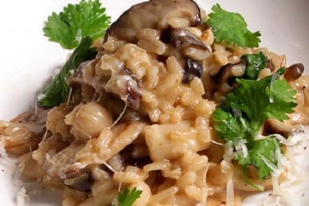 mushroom risotto 2